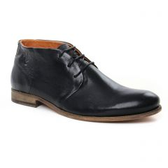 Chaussures homme été 2019 - bottines Chukka Kost noir
