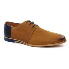 derbys marron bleu: même style de chaussures en ligne pour hommes que les Fluchos