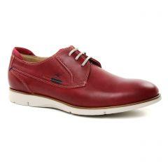 derbys rouge: même style de chaussures en ligne pour hommes que les Fluchos