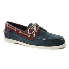 Chaussures homme été 2019 - mocassins bateaux Sebago bleu marron
