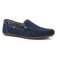 mocassins bleu marine: même style de chaussures en ligne pour hommes que les Fluchos