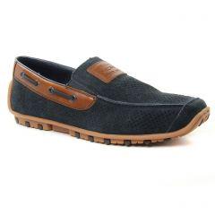 mocassins bleu marine: même style de chaussures en ligne pour hommes que les Rieker