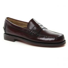 Chaussures homme été 2019 - mocassins Sebago bordeaux
