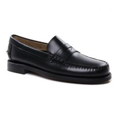 Chaussures homme été 2019 - mocassins Sebago noir