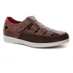 sandales marron: même style de chaussures en ligne pour hommes que les Fluchos