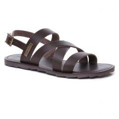 sandales marron: même style de chaussures en ligne pour hommes que les Les Tropéziennes