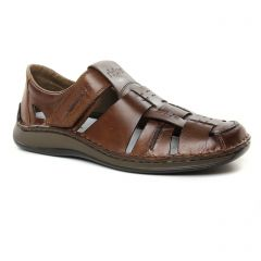 Chaussures homme été 2019 - sandales rieker marron