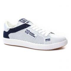 tennis blanc bleu: même style de chaussures en ligne pour hommes que les Vespa