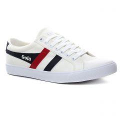 Chaussures homme été 2019 - tennis Gola blanc
