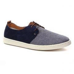 tennis bleu ecru: même style de chaussures en ligne pour hommes que les Bugatti