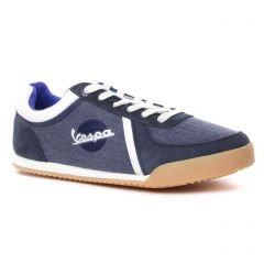 tennis bleu blanc: même style de chaussures en ligne pour hommes que les Vespa