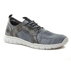 Chaussures homme été 2019 - tennis rieker bleu gris
