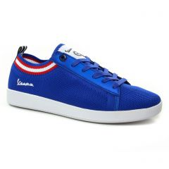 tennis bleu: même style de chaussures en ligne pour hommes que les Vespa