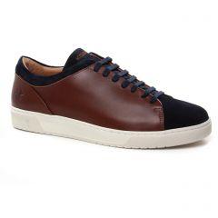 tennis marron bleu: même style de chaussures en ligne pour hommes que les Dockers