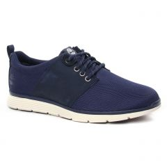 tennis bleu noir: même style de chaussures en ligne pour hommes que les Bugatti