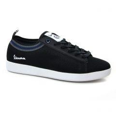 tennis noir: même style de chaussures en ligne pour hommes que les Vespa