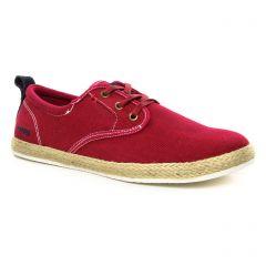 tennis rouge bordeaux: même style de chaussures en ligne pour hommes que les Polo Ralph Lauren
