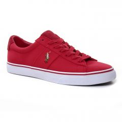 tennis rouge: même style de chaussures en ligne pour hommes que les Polo Ralph Lauren