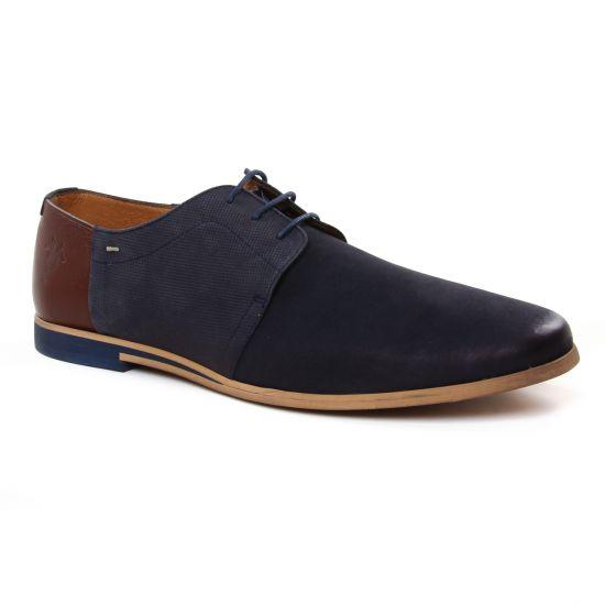 Chaussures Basses À Lacets Kost Fure62 Marine, vue principale de la chaussure homme