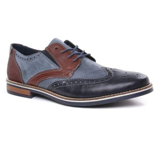Chaussures Basses À Lacets Rieker 13520-16 Ozean, vue principale de la chaussure homme