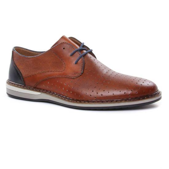 Chaussures Basses À Lacets Rieker 16811-25 Mandel, vue principale de la chaussure homme