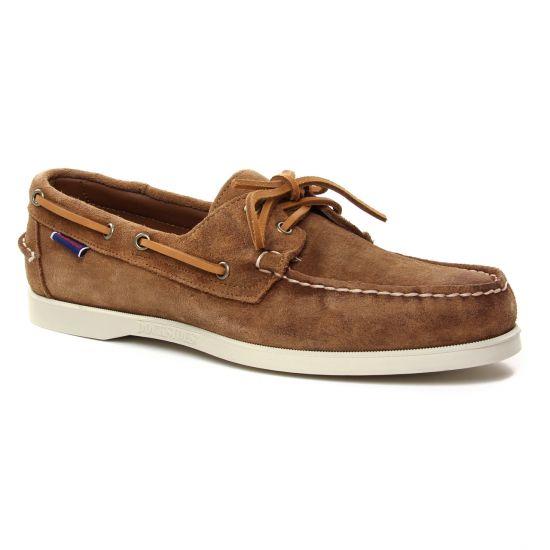 Mocassins Et Bateaux Sebago Portland Brown, vue principale de la chaussure homme