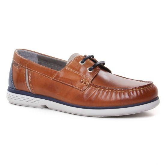 Mocassins Et Bateaux Pikolinos Arenal Brandy, vue principale de la chaussure homme
