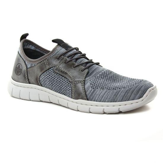 Tennis Rieker B8775-42 Grau, vue principale de la chaussure homme