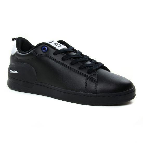 Tennis Vespa V00005 Noir, vue principale de la chaussure homme