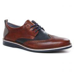 derbys marron marine: même style de chaussures en ligne pour hommes que les Rieker