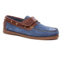 mocassins-bateaux bleu jean: même style de chaussures en ligne pour hommes que les Yann Bolligen