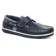 Chaussures homme été 2020 - mocassins bateaux yann bolligen bleu marine