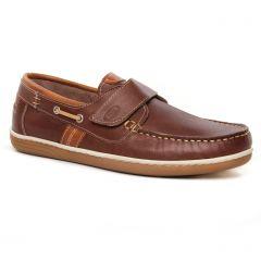 mocassins-bateaux marron: même style de chaussures en ligne pour hommes que les Yann Bolligen
