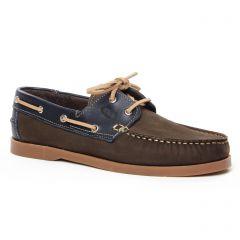 mocassins-bateaux marron: même style de chaussures en ligne pour hommes que les Sebago