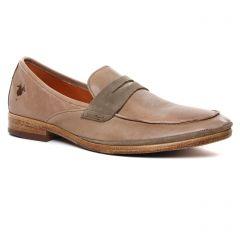 mocassins beige clair: même style de chaussures en ligne pour hommes que les Kost