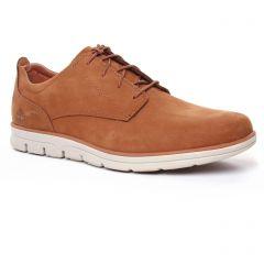 Chaussures homme été 2020 - chaussures basses à lacets Timberland marron