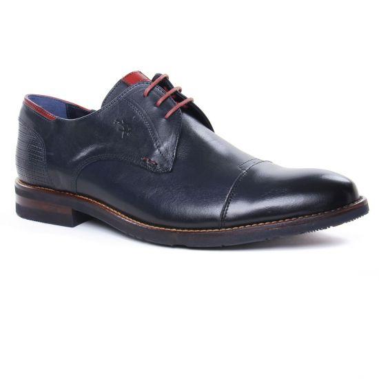 Chaussures Basses À Lacets Fluchos F0140 Ocean, vue principale de la chaussure homme