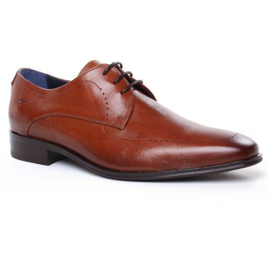 Chaussures Basses À Lacets Fluchos F0492 Cuero, vue principale de la chaussure homme