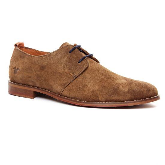 Chaussures Basses À Lacets Kost Erwin 5 Tabac, vue principale de la chaussure homme