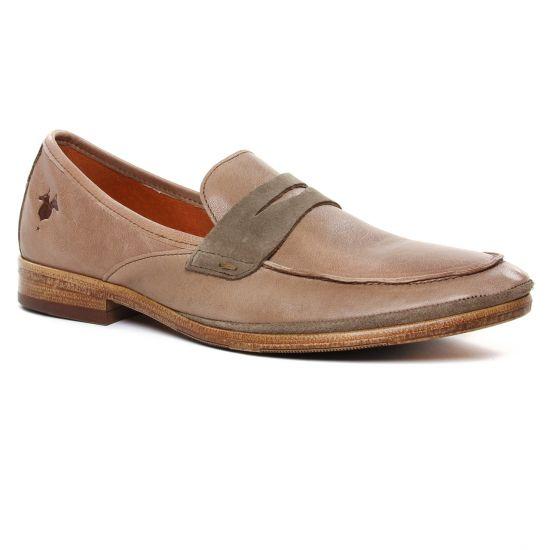 Mocassins Et Bateaux Kost Oxygen 63 Castor, vue principale de la chaussure homme