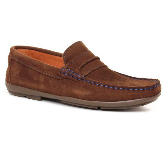 Mocassins Et Bateaux Yann Bolligen 9003 Marron, vue principale de la chaussure homme