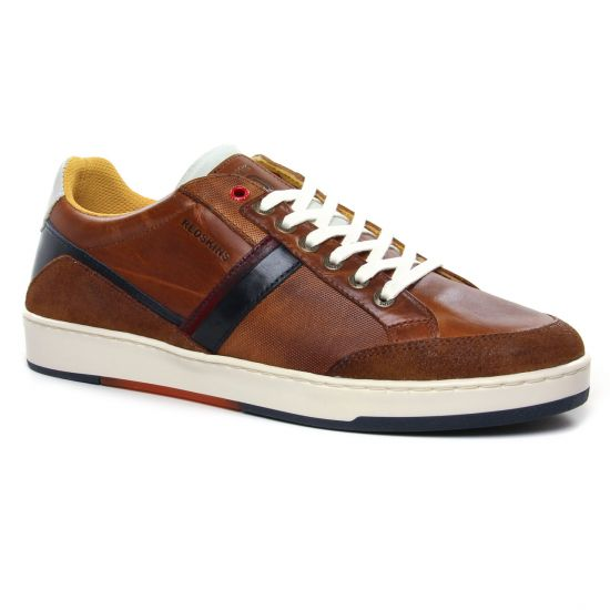 Tennis Redskins Salda Cognac Marine, vue principale de la chaussure homme