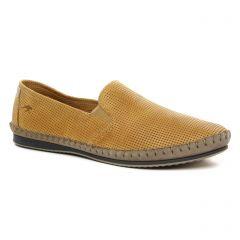 mocassins beige: même style de chaussures en ligne pour hommes que les Fluchos