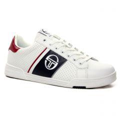 tennis blanc bleu: même style de chaussures en ligne pour hommes que les Fluchos