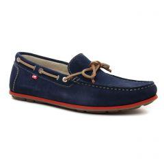 mocassins-bateaux bleu marine: même style de chaussures en ligne pour hommes que les Fluchos