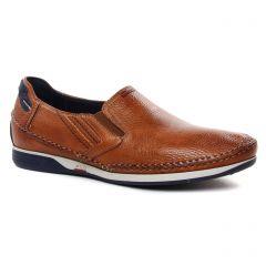 mocassins marron cognac: même style de chaussures en ligne pour hommes que les Fluchos