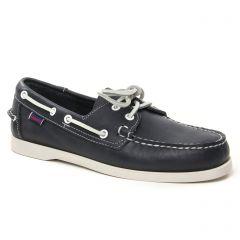 Chaussures homme été 2021 - mocassins bateaux Sebago bleu marine