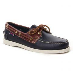 Chaussures homme été 2021 - mocassins bateaux Sebago marron bleu