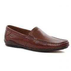 mocassins marron: même style de chaussures en ligne pour hommes que les Fluchos