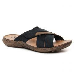sandales bleu marine: même style de chaussures en ligne pour hommes que les Rieker